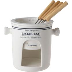JACKIES BAY Fondue Jackies Bay, 1 Fonduegabeln, 0,40 l, inkl. Fonduegabel