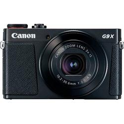 Canon PowerShot G9 X Mark II Bridge-Kamera (20,1 MP, 3x opt. Zoom, WLAN (Wi-Fi), NFC) schwarz