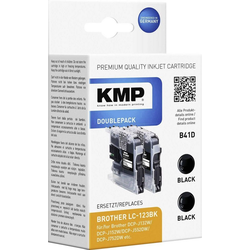 KMP KMP Tintenpatronen 2er-Pack B41D Schwarz 1525,0021 Tintenpatrone