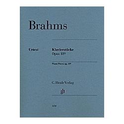 Klavierstücke op. 119. Johannes - Klavierstücke op. 119 Brahms  - Buch