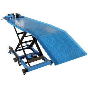 GÜDE Wagenheber GMR360, für Vorderräder bis 135mm blau 150 cm
