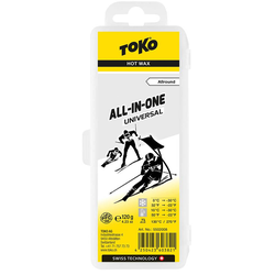 Toko All-in-One Hot Wax universal Skiwachs