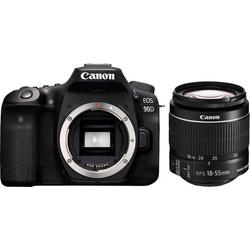 Canon EOS 90D EF-S 18-55mm f/3.5-5.6 IS STM Spiegelreflexkamera (Canon EF-S 18-55mm f/3.5-5.6 IS II, 32,5 MP, WLAN (Wi-Fi), Bluetooth)