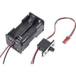 Modelcraft Modellbau Batteriebox mit Schalter Stecksystem: BEC