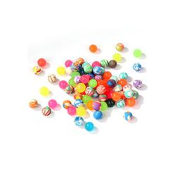 Wellgro Flummi Flummi bunt gemischt Ø 19 mm - bunte Flummis, Springball, Mitgebsel, Tombola - Menge wählbar