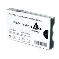 Alternativ-Tinte für EPSON T6128 / C13T612800 schwarzmatte