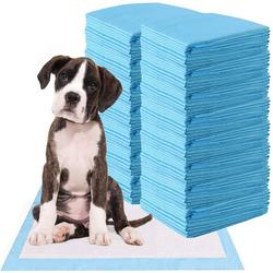 COSTWAY Hundematte Trainingunterlage Hunde Welpenunterlage Puppy Hygieneunterlagen Einwegpad PIPI-Pad 60 cm x 90 cm