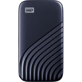 Western Digital My Passport 500 GB USB 3.2 blau WDBAGF5000ABL-WESN