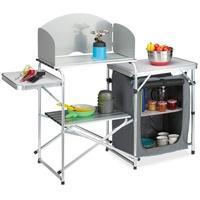 Relaxdays Campingschüssel Campingküche, Aluminium