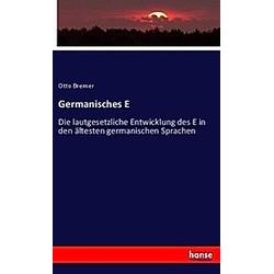 Germanisches E. Otto Bremer  - Buch