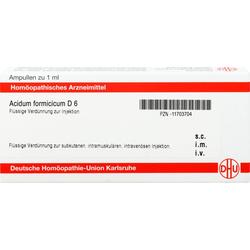 ACIDUM FORMICICUM D 6 Ampullen 8 ml