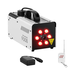 Singercon Nebelmaschine - 900 W - 141,6 m³ - LED 6 x 3 W - DMX-Anschluss CON.FM-900B
