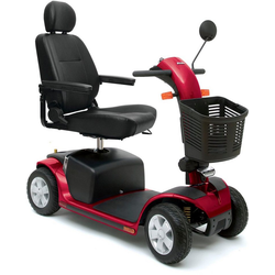 mobilis Elektromobil M68, 10 km/h, Zerlegbar rot