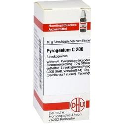 PYROGENIUM C 200 Globuli 10 g