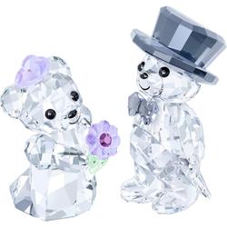 Swarovski Dekofigur KRIS BEAR - YOU & I, 1096736 (2 Stück), Swarovski® Kristall