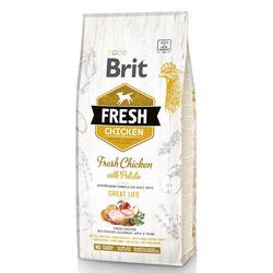Brit Fresh Adult Chicken & Potato Great Life Hundefutter (2 x 12 kg)
