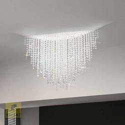Fonte Di Luce 120 LED Kristall Deckenleuchte Dimmbar 4350lm