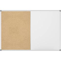 Maul Whiteboard, Pinnwand Combiboard MAULstandard (B x H) 90cm x 60cm Weiß kunststoffbeschichtet Qu