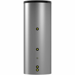 Warmwasserspeicher EBS-PU mit einem Wärmetauscher - Farbe silber - 500 Liter