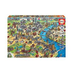 Educa Puzzle Puzzle London Map, 500 Teile, Puzzleteile