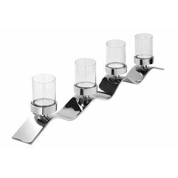 Fink Kerzenständer WAVE, aufwendige Handarbeit, für 4 Kerzen 83 cm x 15 cm x 8 cm