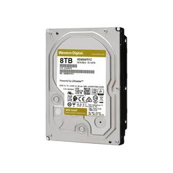 WD Gold 8 TB, SATA 6 Gb/s, 3,5