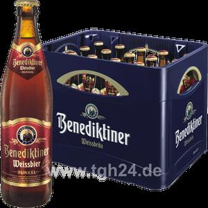 Benediktiner Weissbier Dunkel 20x0,5 l