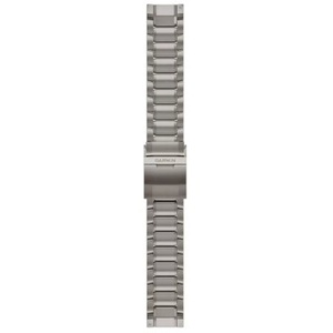 QuickFit 22-Uhrenarmbänder Armband aus Titan mit Pfeilung