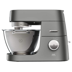 Kenwood Küchenmaschine Kenwood KVC7300S Chef Titanium - Küchenmaschine, 1500 W