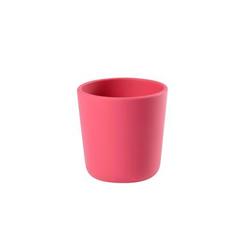 BEABA Silikonbecher in rosa