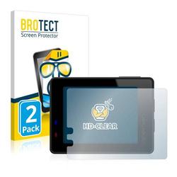 2x BROTECT® HD-Clear Displayschutzfolie für Apeman A100
