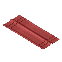 Onduline Ondalux Firsthaube rot, 100 cm lang