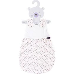 Träumeland Babyschlafsack Außenschlafsack Herz rosa (1 tlg) 56/62