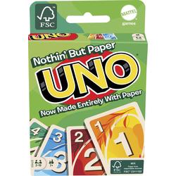 Mattel - Mattel Games UNO 100% Papier Kartenspiel
