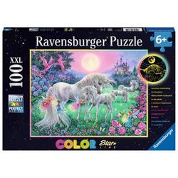 Ravensburger 13670 Puzzle Einhörner im Mondschein 100 Teile 13670