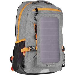 SunnyBag Solarrucksack Explorer+ 15l (B x H x T) 290 x 370 x 140mm Grau, Orange 135F_01