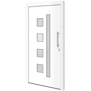RORO Türen & Fenster Haustür Otto 12, BxH: 100x210 cm, weiß, ohne Griff