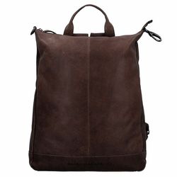 The Chesterfield Brand Wax Pull Up Manchester Rucksack Leder 40 cm bruin