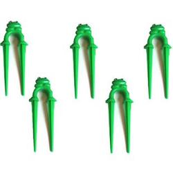 24x Schlauchhalter Schlauchführung Gartenschlauchführung Garten Frosch Deko Neu