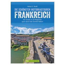 40 Motorradtouren in Frankreich, 288 Seiten