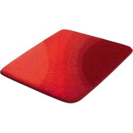 Kleine Wolke Badteppich Malin Granat 55x 65 cm