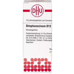 STREPTOCOCCINUM D 12 Globuli 10 g