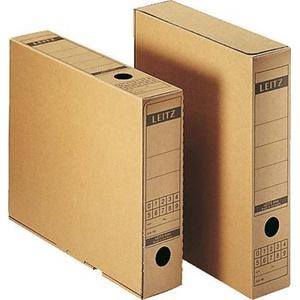 Leitz Archivbox 6084-00-00 70mm x 325mm x 265mm Wellpappe Naturbraun