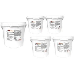 well2wellness Chlor L Tabletten 200g - langsam lösliche Chlortabletten a 200g mit 90% Aktivchlor, 25 kg (5 x 5 kg)
