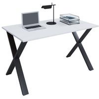 VCM Schreibtisch LONA(BHT 140x76x80 cm) VCM weiß/schwarz