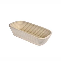 KÜCHENPROFI Gärkörbchen Gärkorb Brotform aus Peddigrohr eckig 28 cm Brotkorb