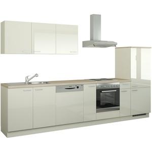 Küchenzeile mit Elektrogeräten  Coburg ¦ creme