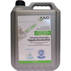 Sägekettenhaftöl BIO 2000 76 mm²/s (bei 40GradC) 5l Kanister KAJO