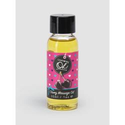 Lovehoney Oh! Essbares Massageöl mit Kirschgeschmack, 30 ml