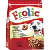 Frolic Complete mit Rind 3 x 3 kg